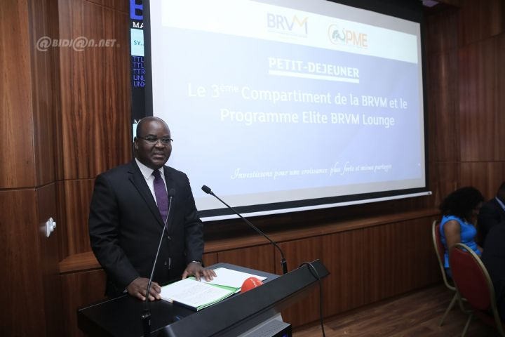 Bourse: le 3ème compartiment de la BRVM et le programme Elite BRVM Lounge au centre d`un débat