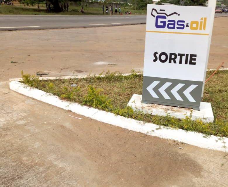 Ouverture de la nouvelle station-service d'Ayébo